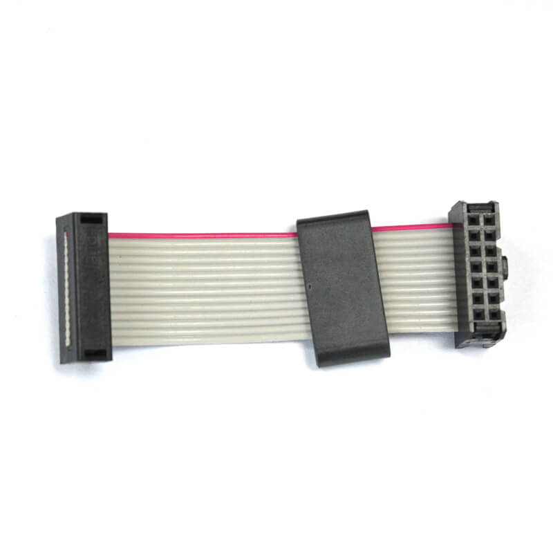 14 pins pitch 2.54 mm IDC to DIP ribbon flat cable NGD-008-4