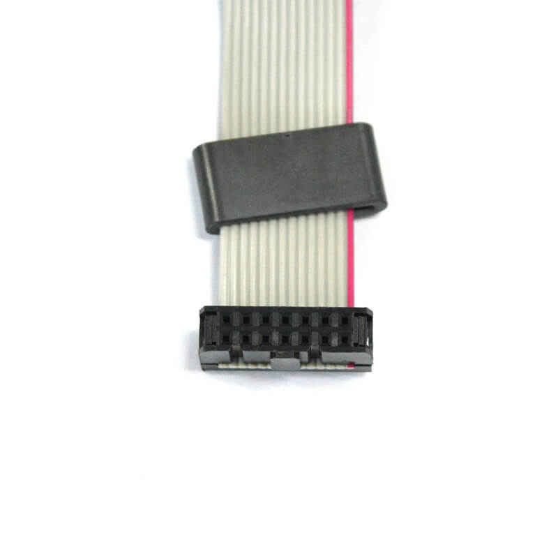 14 pins pitch 2.54 mm IDC to DIP ribbon flat cable NGD-008-3
