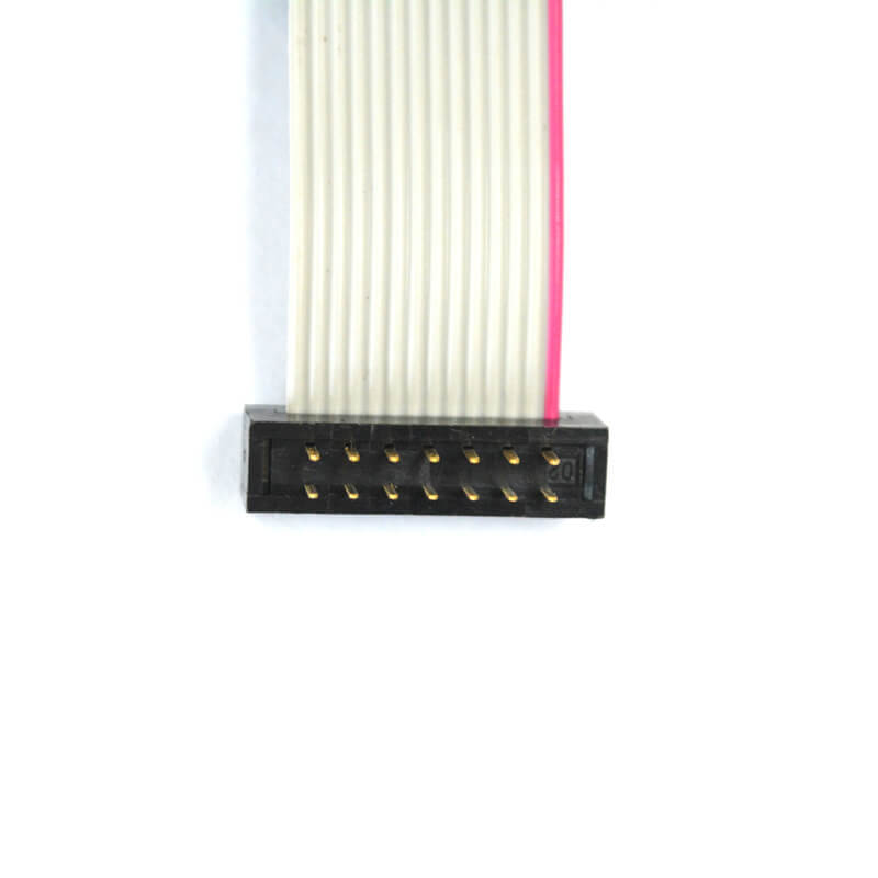 14 pins pitch 2.54 mm IDC to DIP ribbon flat cable NGD-008-1