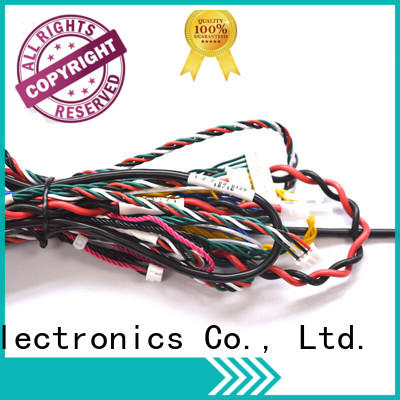 black industrial electrical wiring harness for electronics Nangudi