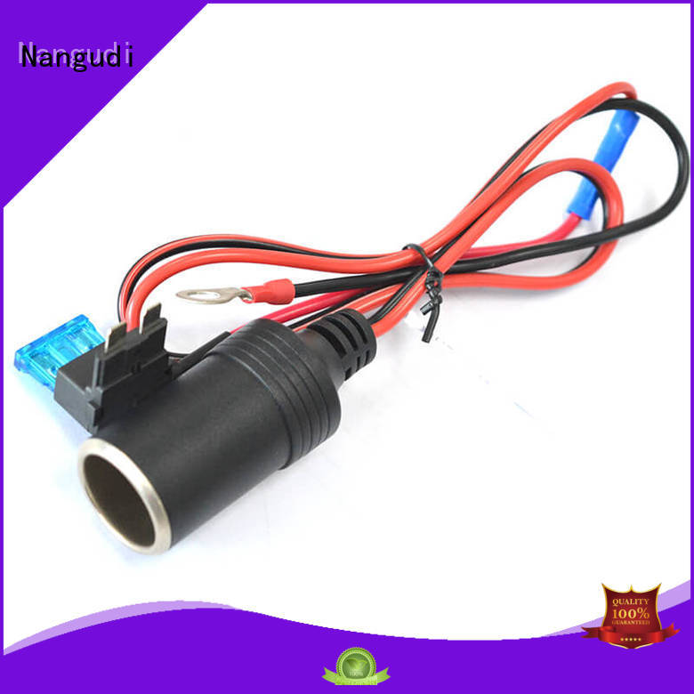 durable cable charger for car open end for led Nangudi