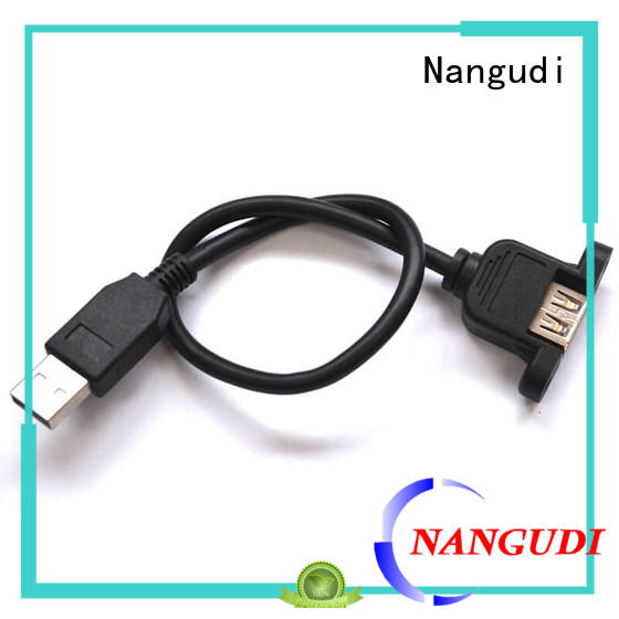 Panel mount USB 2.0 A female cable NGD-016