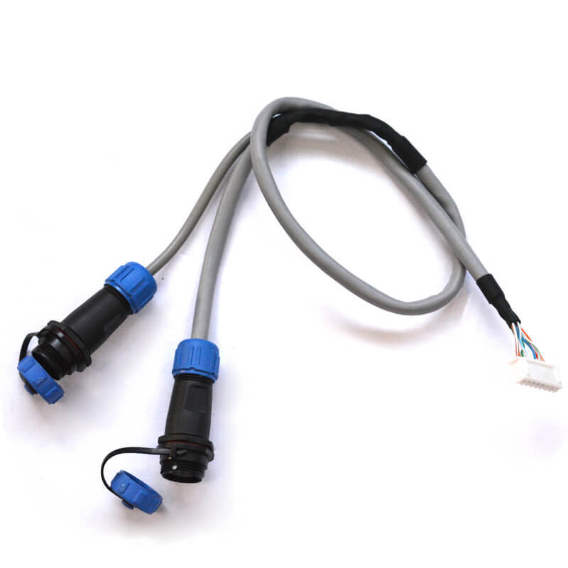 Weipu waterproof circle connector cable assembly NGD-004