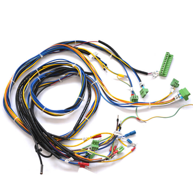 20 AWG 5.08 mm terminal block customized wire harness NGD-013