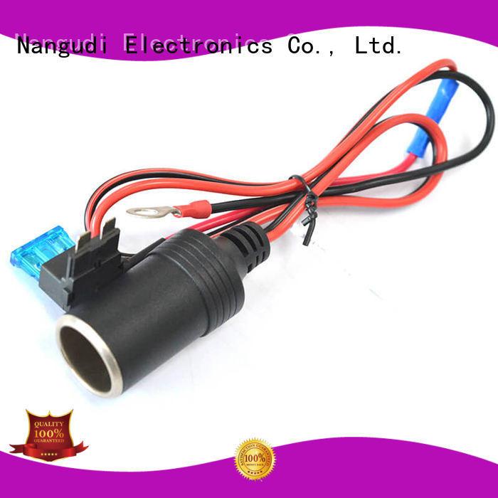 Hot open dc in cable connector cigarette Nangudi Brand