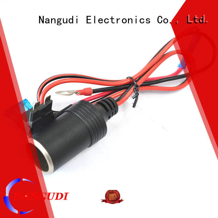 car cigarette lighter cable connector indicator Nangudi Brand dc in cable