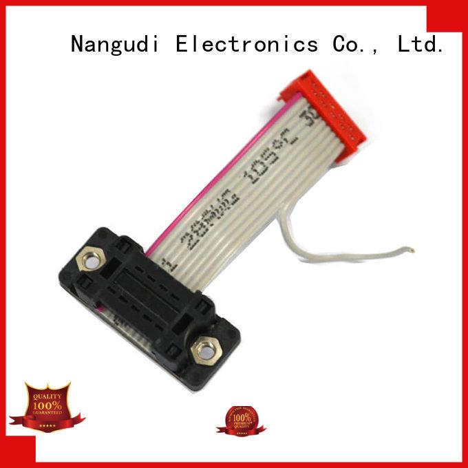 Nangudi Brand male pin pitch custom flat ribbon cable