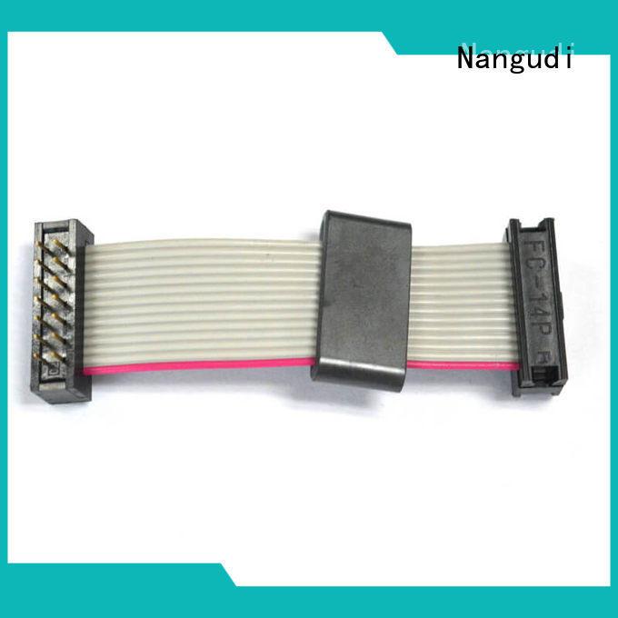Top idc ribbon cable header consistent for printers facsimile machine