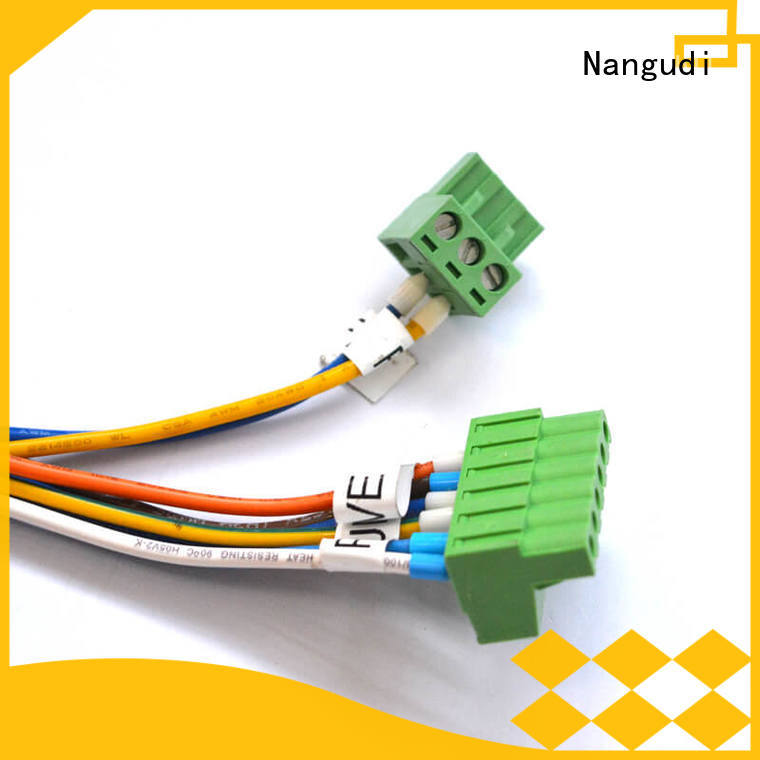 Nangudi New custom cable assemblies for wholesale copper terminal