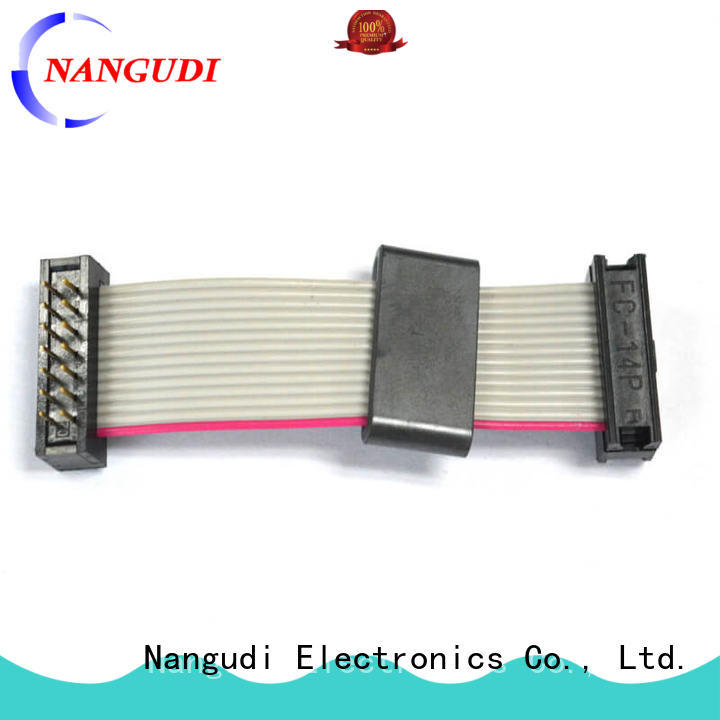 Nangudi high quality laptop screen ribbon cable header for LCD displays