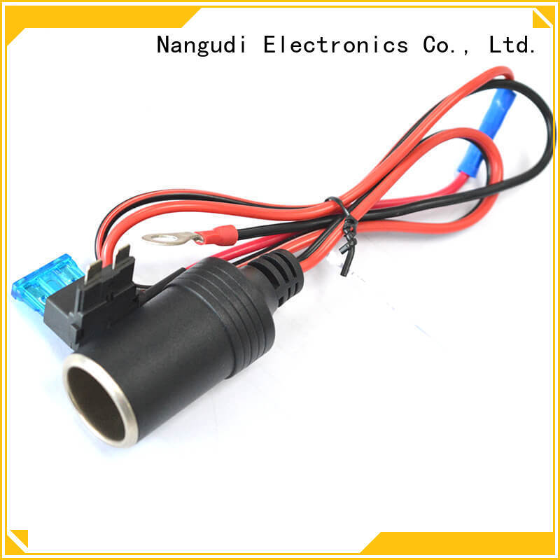 Nangudi Custom car charger wire open end for connector
