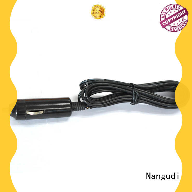 Open end easy assembly car cigarette lighter cable NGD-026