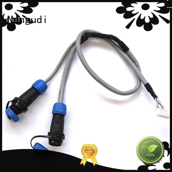 customized auto wiring harness circle at discount for terminal block