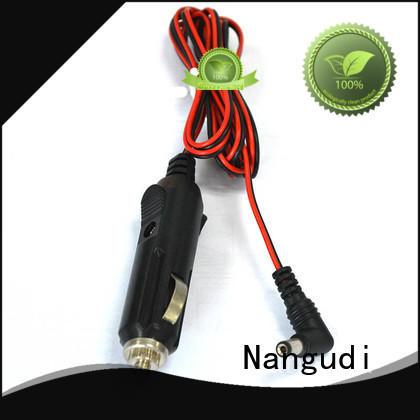 5.5*2.1mm DC barrel plug 15A Car cigarette lighter cable NGD-025