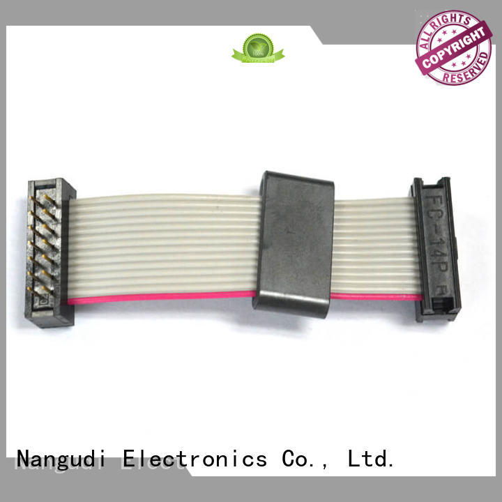 dip Custom ribbon male flat cable Nangudi pin