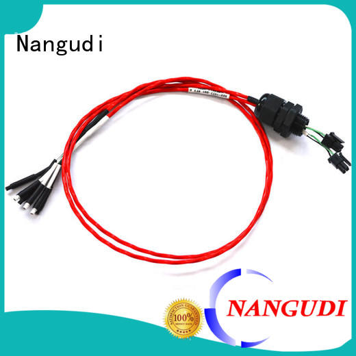 Nangudi waterproof wire harness assembly cooling harness for terminal block
