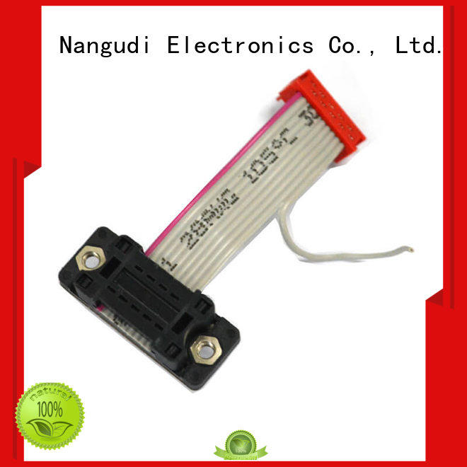 Nangudi best price flat cable wire header for CD players