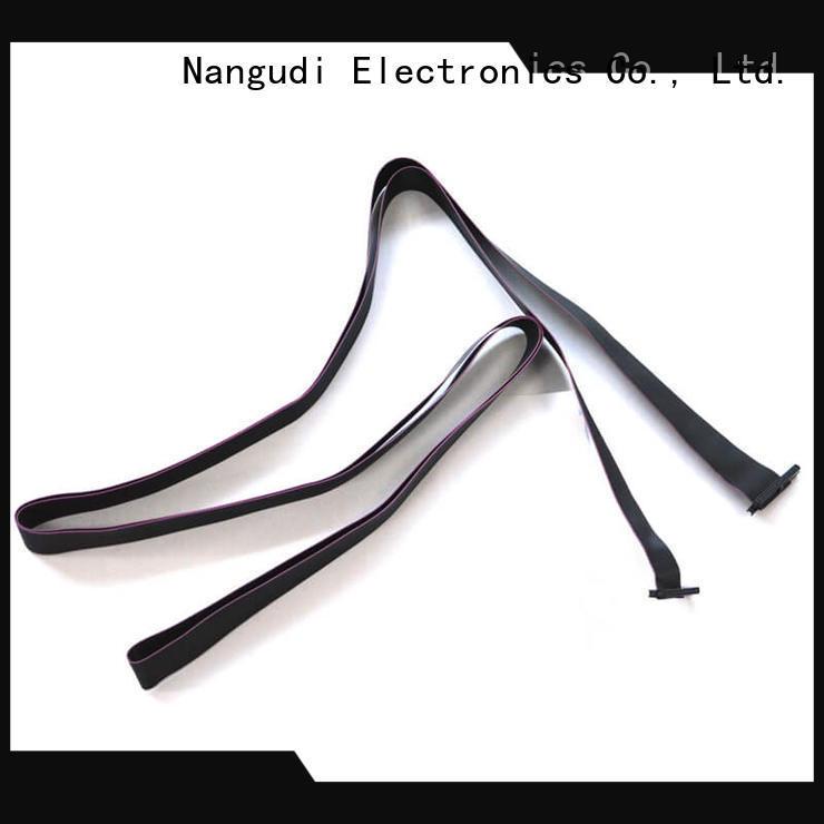 Nangudi dip 4 wire ribbon cable high density for LCD displays