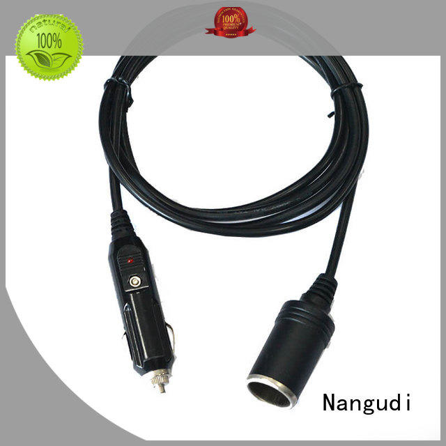 heat resistant car adapter cable tap free sample for car