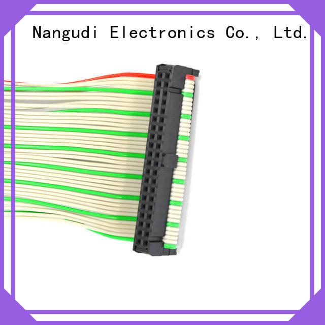 Nangudi pins flexible flat cable connector for business for DB-9 connector