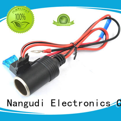 Nangudi durable car charger cable fuse for socket