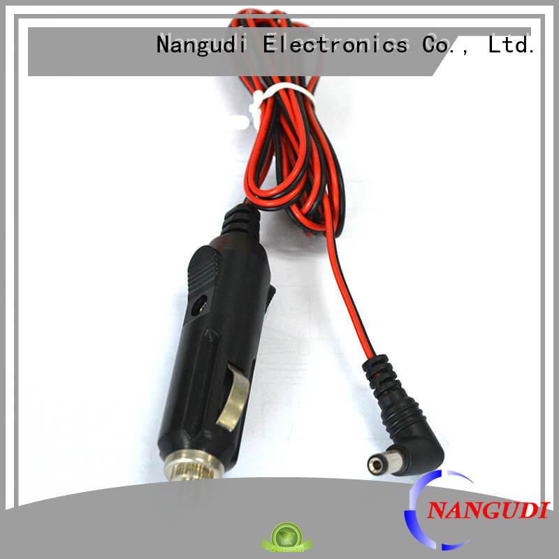 Nangudi heat resistant car cigar lighter socket extension cable factory price for led