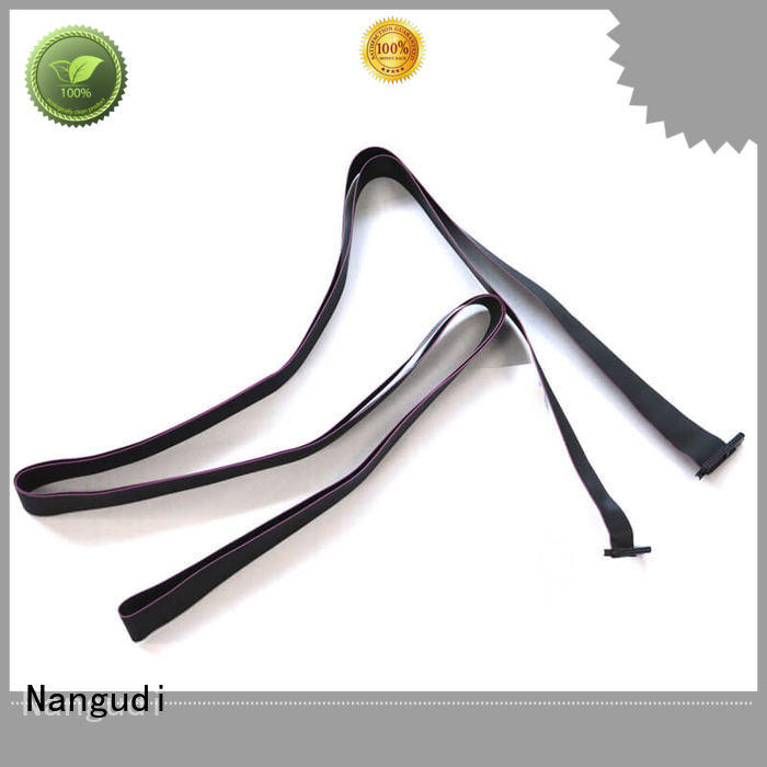 Nangudi durable flat cable wire weight reduction for berg strip connector