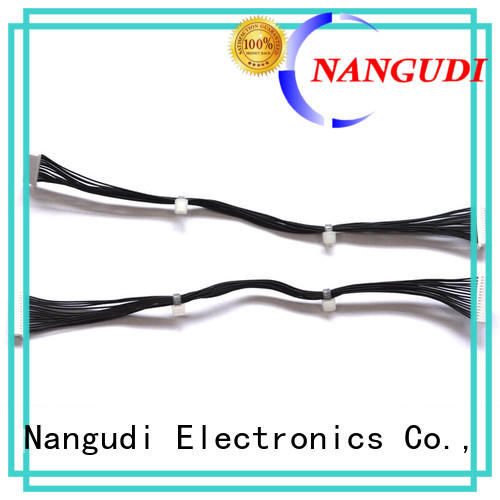 28 awg black wires 15 pins electronics wire harness NGD-019