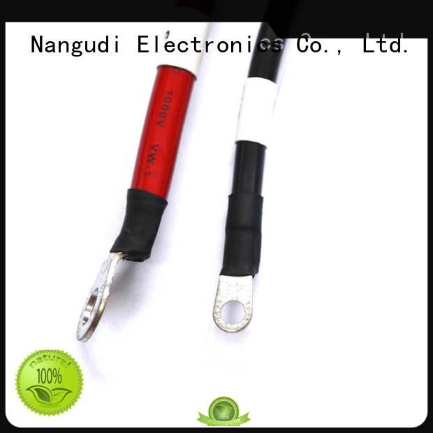 Nangudi wire mc4 solar cable free sample for components