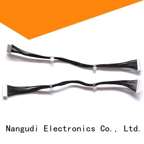 Nangudi black flexible cable best supplier for robot
