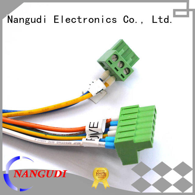 Nangudi power cable assembly free sample for terminal block