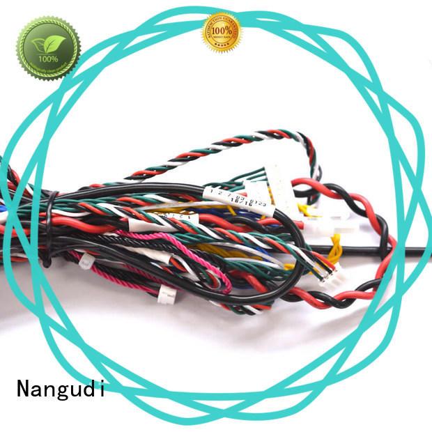 Nangudi flexible bosch lawnmower cable harness for robot