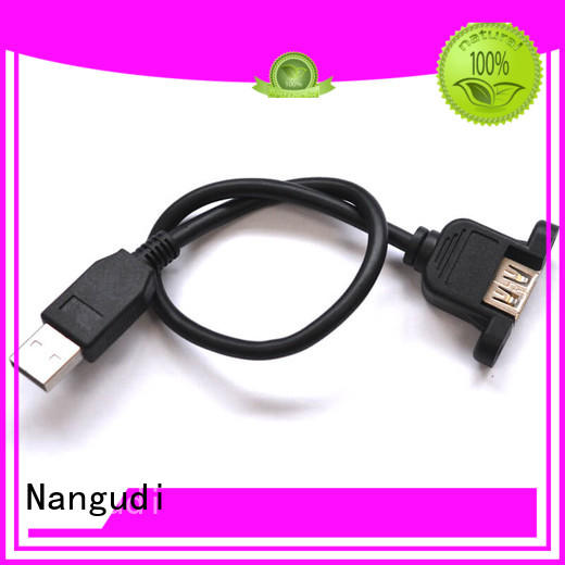 Nangudi panel mount dc cable best quality for storing data