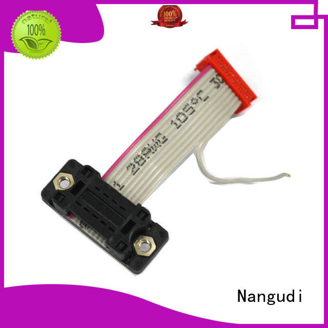 Nangudi dip flat cable wire mass termination for DB-9 connector