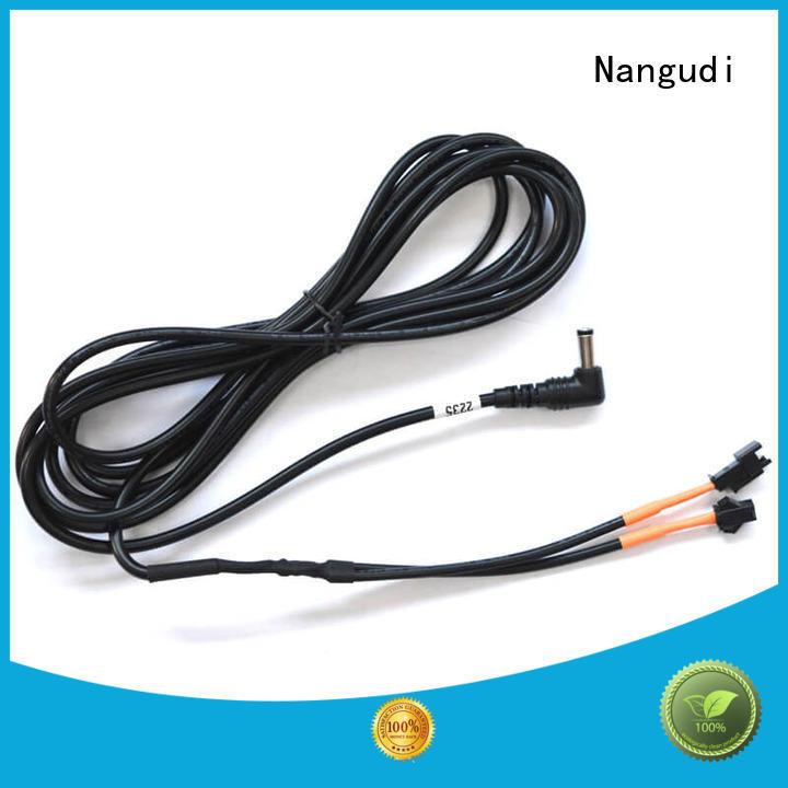SM 2.5 connectors 5.5*2.1 mm DC barrel monitor cable NGD-009