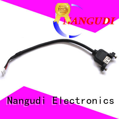 USB 2.0 A female Panel mount cable NGD-015
