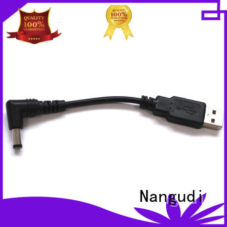 USB 2.0 A/M to 5.5*2.1 mm DC barrel 20awg USB cable NGD-017