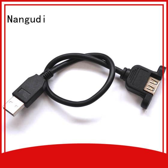 Nangudi panel mount usb c cord factory price for data transfer