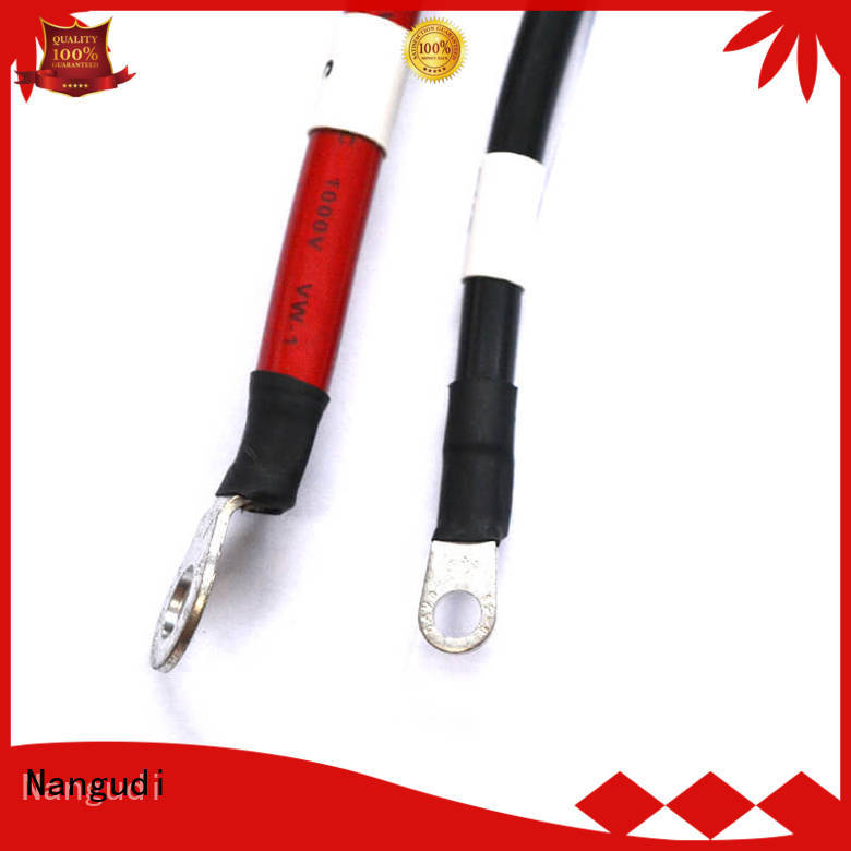 Nangudi voltage resistant 8 awg solar cable terminal simple assembly