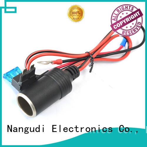 Nangudi Brand dc open car cigarette lighter cable indicator