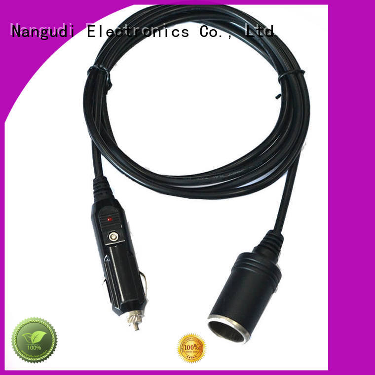 car cigarette lighter cable assembly overmold socket dc in cable manufacture