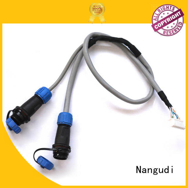 OEM custom cable assembly manufacturers wire for terminal block Nangudi