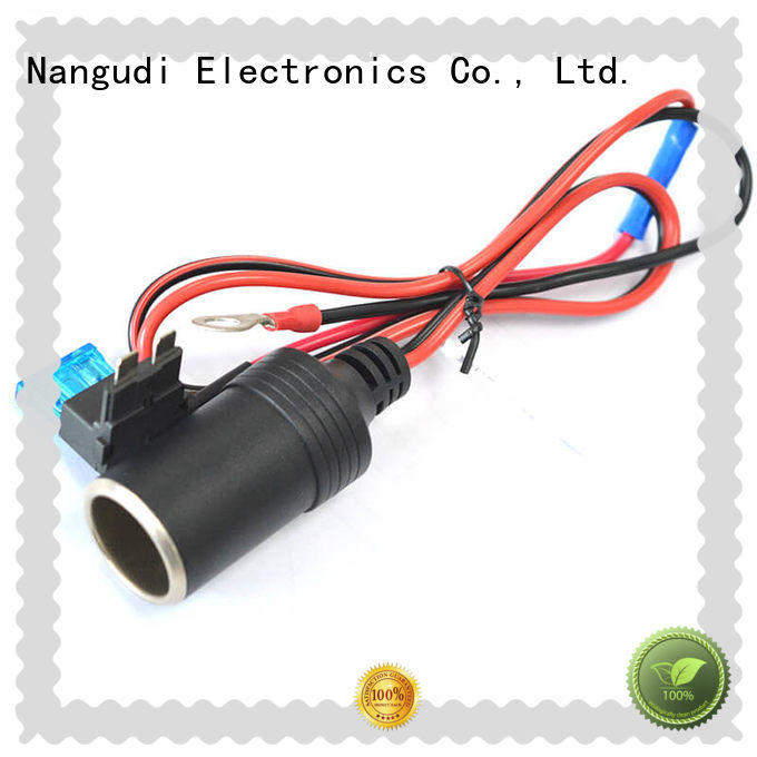 durable car cigarette lighter extension cord factory price for socket