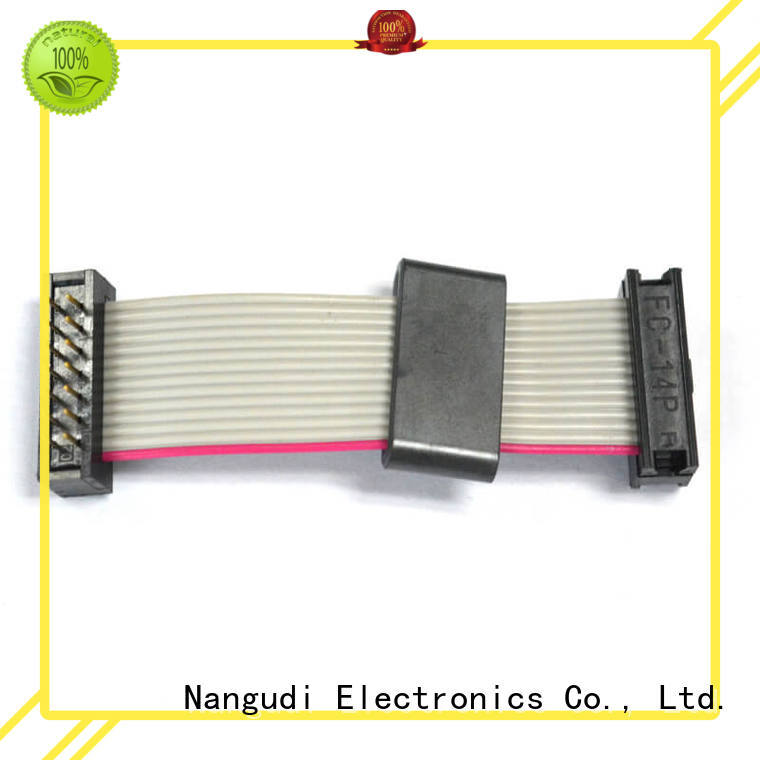 14 pins pitch 2.54 mm IDC to DIP ribbon flat cable NGD-008