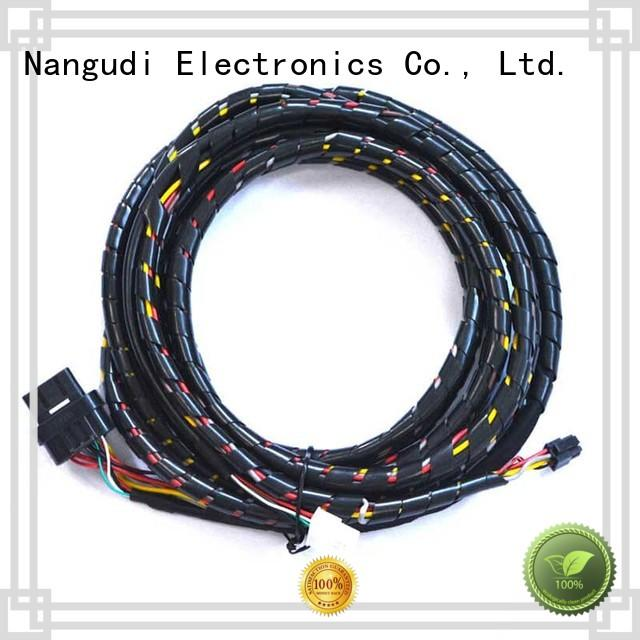 Nangudi Brand waterproof wire custom cable assembly manufacturers