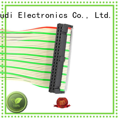 Nangudi durable ribbon cable male pitch for DB-9 connector