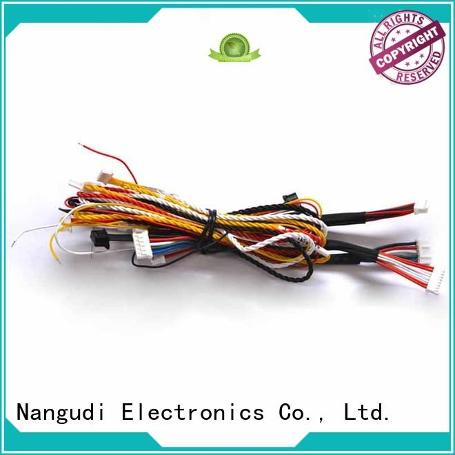 copper flexible cable harness black electrical cable manufacture