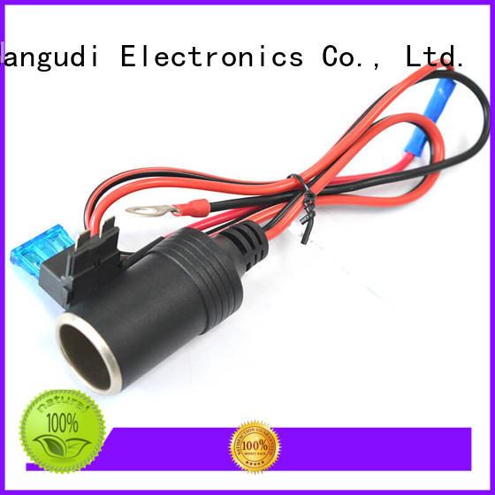 heat resistant 12v cigarette lighter cable easy assembly for connector Nangudi