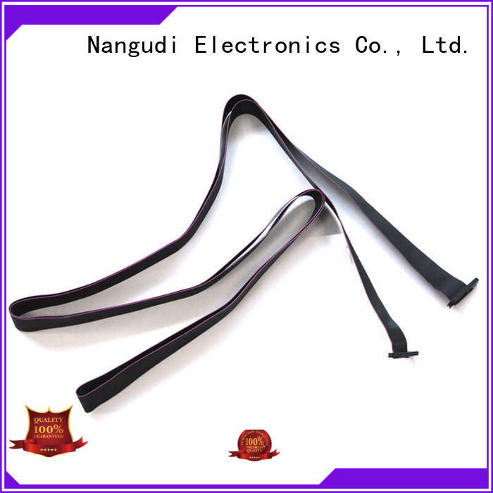 Pitch 1.27 mm IDC UL2651#30AWG flat cable NGD-006