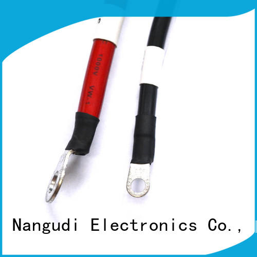 Nangudi red copper cable harness customized for PV equipment